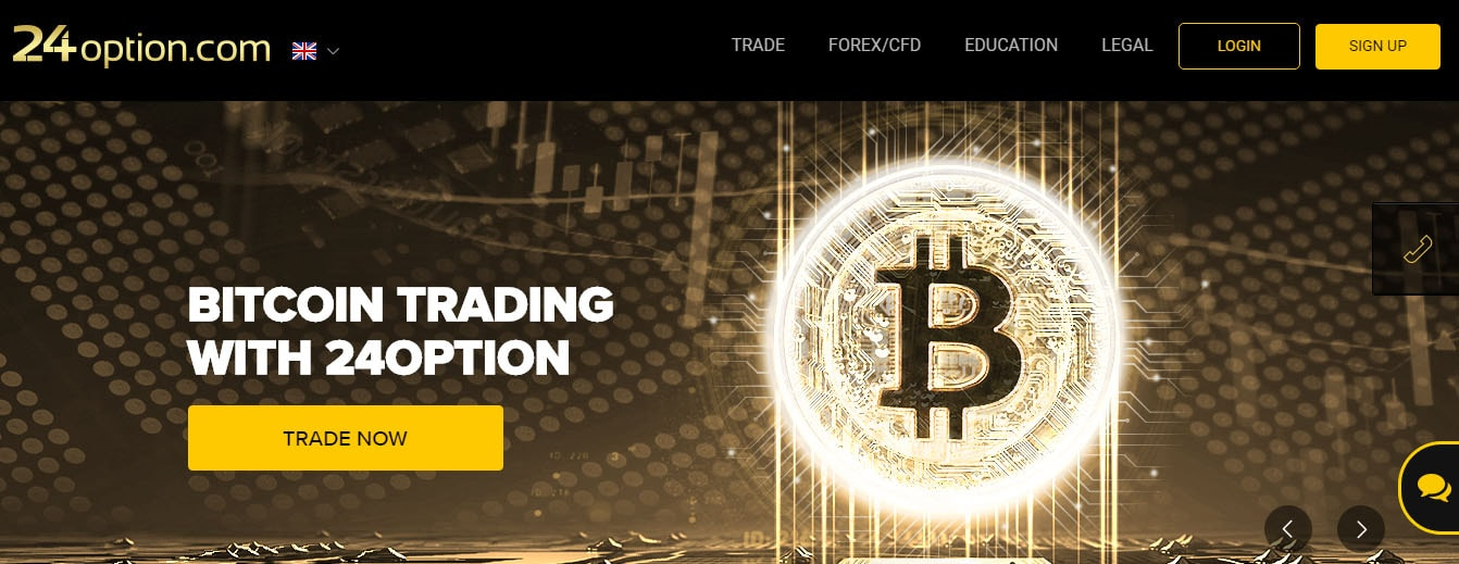 24option Bitcoin trading