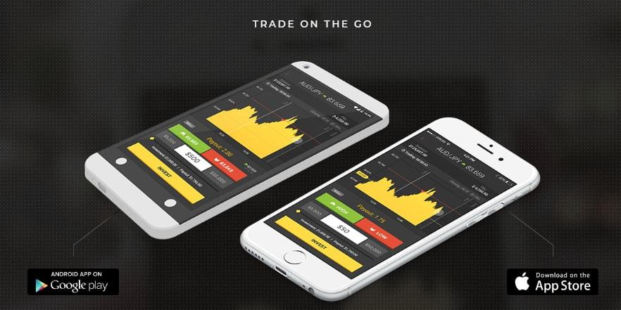 HighLow Mobile trading app