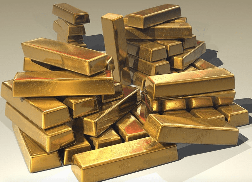 Gold Rises Above $1345 Level In Fresh Session Tops