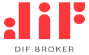 DIF Broker logotype